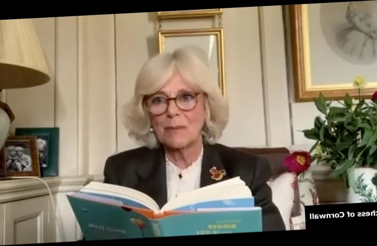 Camilla Makes Royal Acting Debut with Dramatic Reading of James and the Giant Peach for Charity