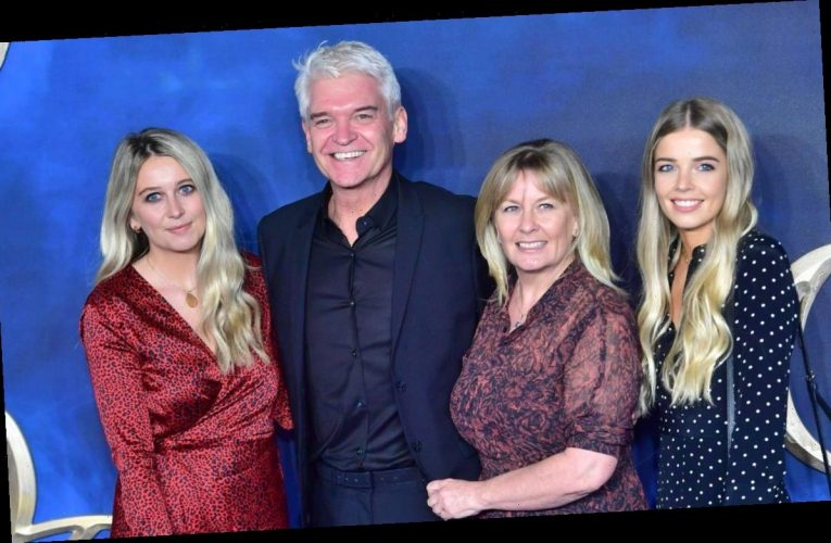 This Morning star Phillip Schofield shares rare photo with daughter Molly during lockdown