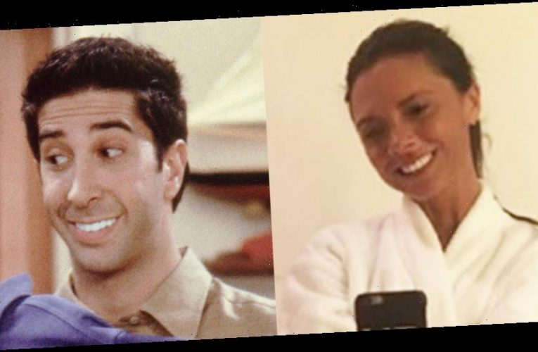 Victoria Beckham's Husband David Roasts Her Teeth, References Ross From That 'Friends' Episode!