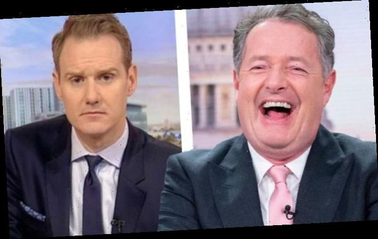 Piers Morgan: GMB host taunts rival Dan Walker with playful warning: 'Don't get fired!'