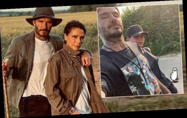 Victoria Beckham raises eyebrows as she 'shows up' husband David Beckham: 'Super bold'