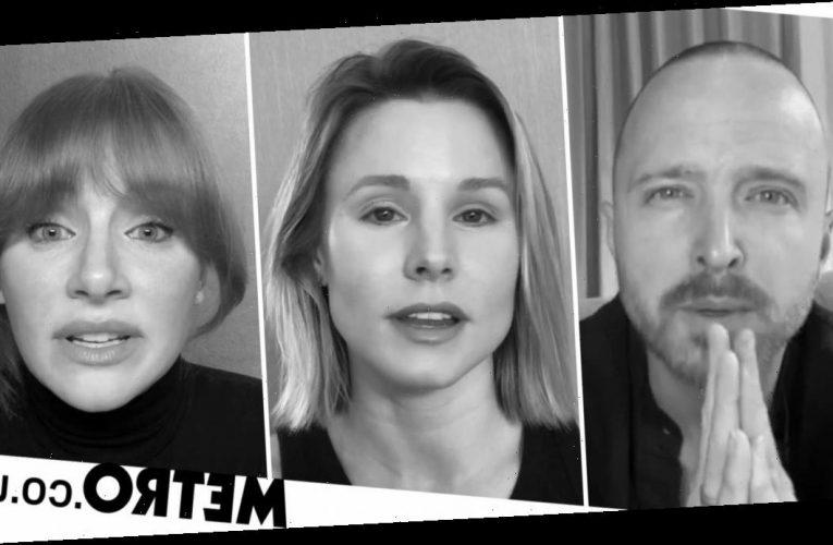 Aaron Paul goes 'full Jesse Pinkman' as celebs film Black Lives Matter video