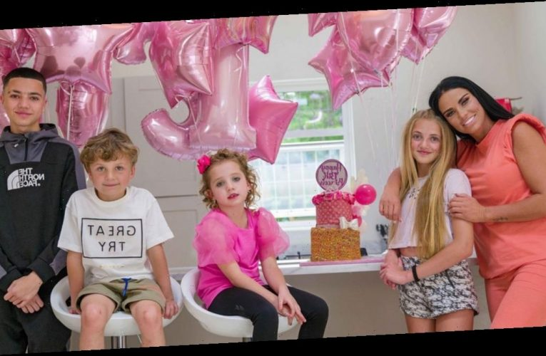 Inside Katie Price's incredible 13th birthday party for daughter Princess including a puppy, a Louis Vuitton cake and pink balloons