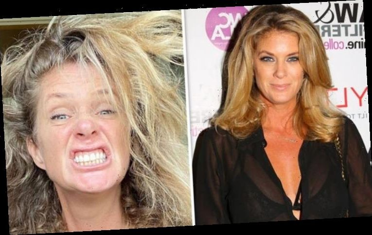 Rod Stewart's ex wife Rachel Hunter suffers extreme hair crisis 'What's happening?'