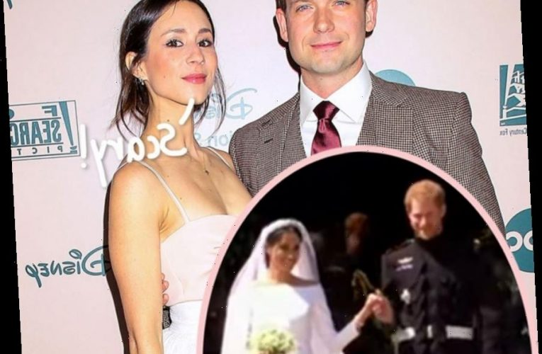 Troian Bellisario Opens Up About 'Extreme Anxiety' At Prince Harry & Meghan Markle's &#