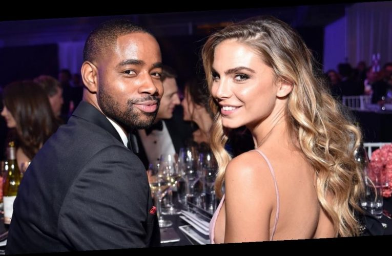 Jay Ellis and Nina Senicar Make Such a Stunning Couple, We Can't Look Away