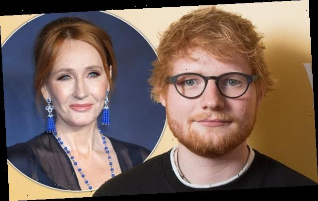 Forbes Celebrity: Ed Sheeran and J. K. Rowling lead Brits in rich list