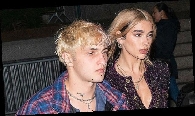Dua Lip & Anwar Hadid Cozy Up With Their Adorable New Rescue Dog In Cute New Snaps