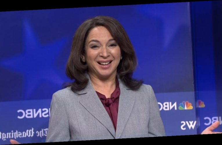 What Kamala Harris really thinks of Maya Rudolph's impression of her