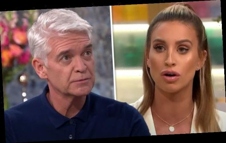 Phillip Schofield: Ferne McCann praises 'brave' This Morning co-star for coming out as gay