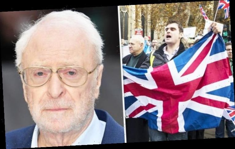 Michael Caine's solution to Brexit debate exposed: 'I know every problem!'