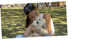MIC's Lucy Watson in 'unbearable pain' as beloved dog Digby dies just three weeks after engagement
