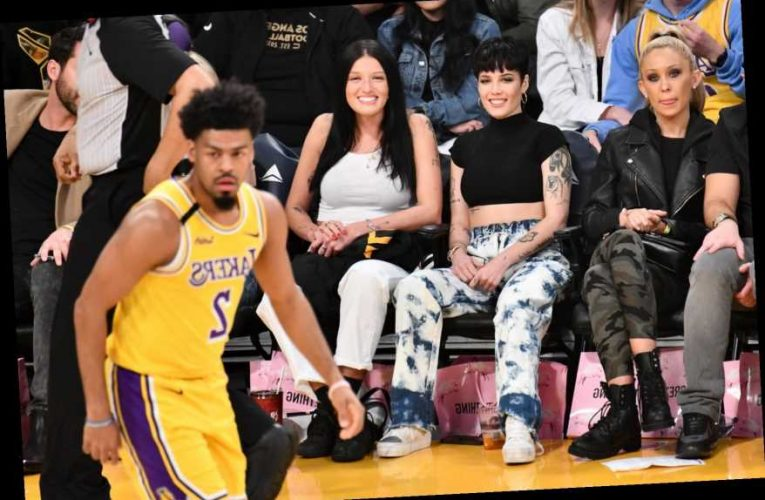 Halsey Reveals Her Birthday Gift From the LA Lakers
