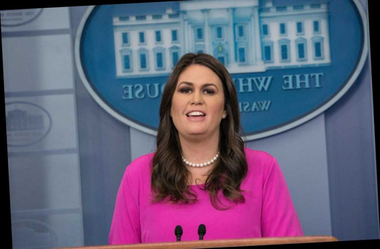 Trump told Sarah Huckabee Sanders to take one for the team after Kim Jong Un wink