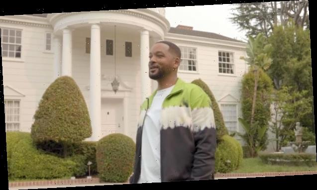 Will Smith Reunites With 'Fresh Prince' Cast To Tour Iconic Mansion From The Show 30 Years Later