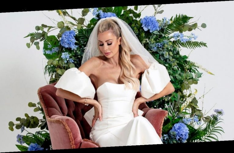 Olivia Attwood unveils 'wild' wedding plans as she admits fiancé Bradley 'isn't interested' while posing in stunning bridal dresses