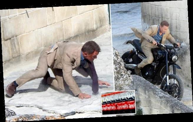 How 8,400 gallons of Coke kept 007 on his motorbike in No Time To Die