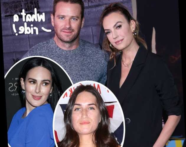 Armie Hammer Has Had At Least THREE Flings Already Since Divorce From Elizabeth Chambers – DETAILS!