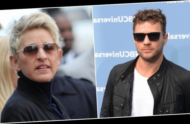 Ryan Phillippe throws shade at Ellen DeGeneres on Instagram amid 'toxic' allegations