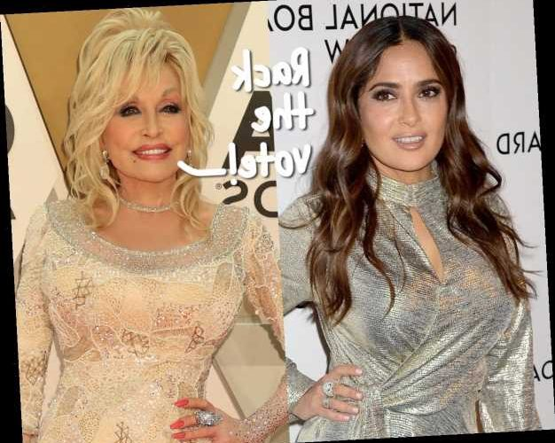 Salma Hayek & Dolly Parton Are The Most Searched Nude Celebrities On The Internet!