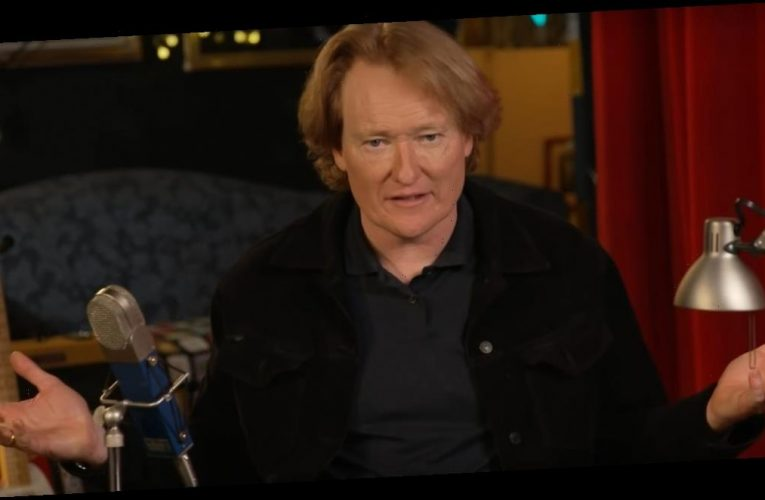 Conan O'Brien says the new set for his show has been burglarized