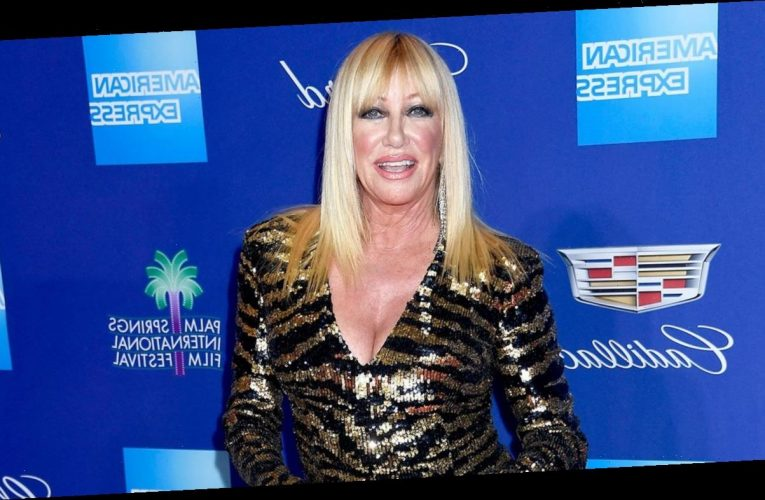 Suzanne Somers Says She Had Neck Surgery After Falling Down the Stairs