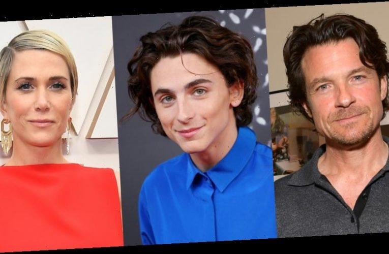 Jason Bateman, Timothee Chalamet & Kristen Wiig Set to Host 'Saturday Night Live'!