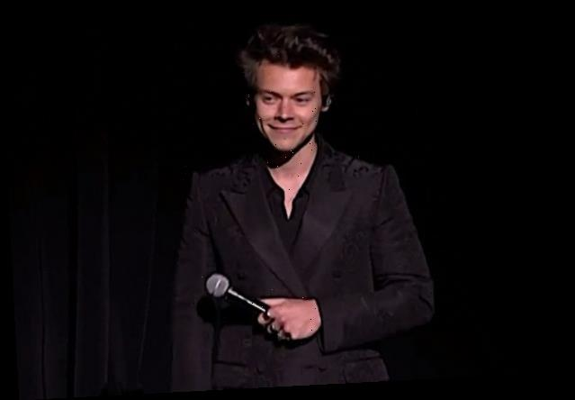 Harry Styles Mocks Candace Owens' Call to 'Bring Back Manly Men'