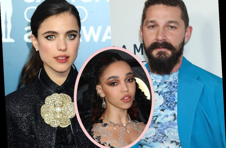 Shia LaBeouf & Margaret Qualley Go Public With Airport PDA Amid FKA Twigs' Abuse Lawsuit