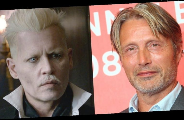 Mads Mikkelsen hasn't spoken to Johnny Depp about replacing him in the 'Fantastic Beasts' movies: 'I don't know him'
