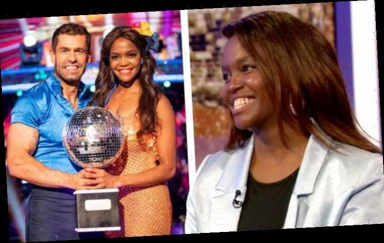 Oti Mabuse shares supportive message from ex-Strictly partner Kelvin Fletcher before final
