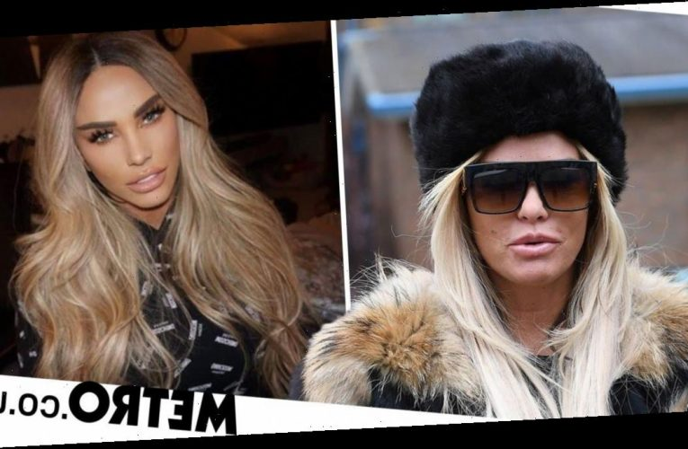 You can buy the hair off Katie Price's head as she raffles off extensions