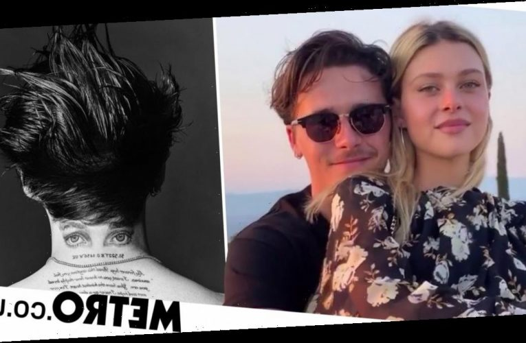 Brooklyn Beckham gets love letter from Nicola Peltz tattooed across back