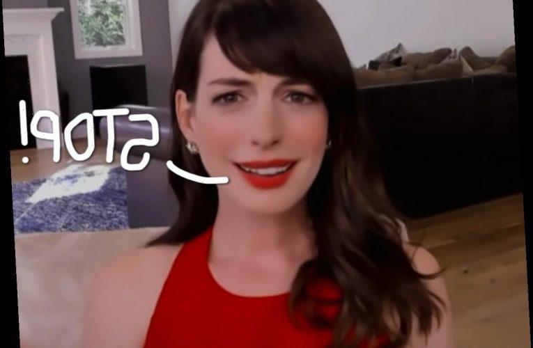 FYI, Anne Hathaway HATES Being Called Anne!