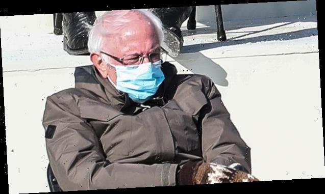 Bernie Sanders Reveals He's 'Seen' The Inauguration Mitten Memes: I Was Just 'Trying To Keep Warm'
