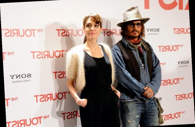 Did Johnny Depp and Angelina Jolie Date?