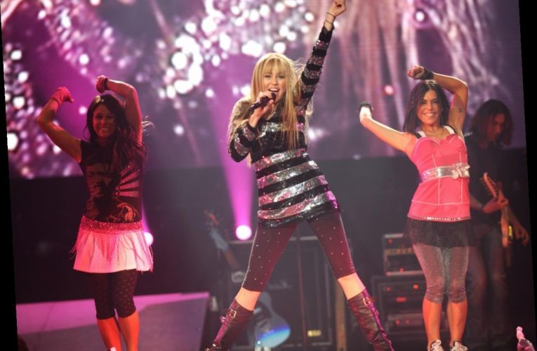 A 'Vampire Diaries' Star Was Miley Cyrus' Backup Singer on a Hannah Montana World Tour
