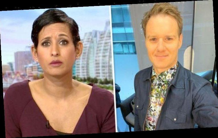 Naga Munchetty tells Dan Walker she's not a fan of his bold BBC look: 'Wildlife on one'