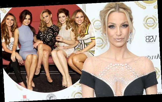 Sarah Harding and her Girls Aloud bandmates had a secret reunion