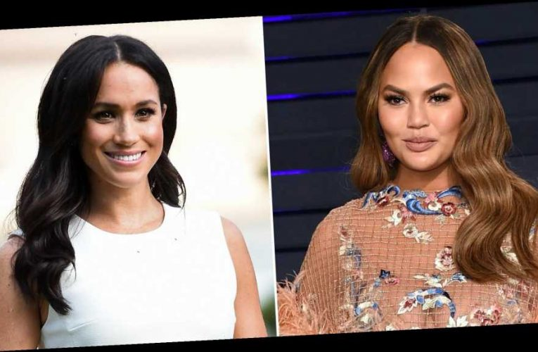 Chrissy Teigen Defends Pal Meghan: They 'Won't Stop Until She Miscarries'