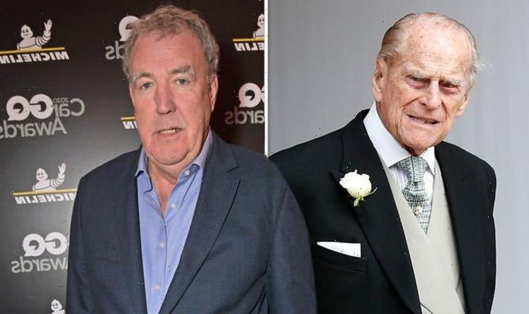 Jeremy Clarkson details awkward moment with Prince Philip as he mourns for late royal