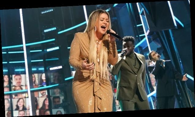 Kelly Clarkson Admits To Once Using A Trash Can In The Middle Of A Performance As A Bathroom