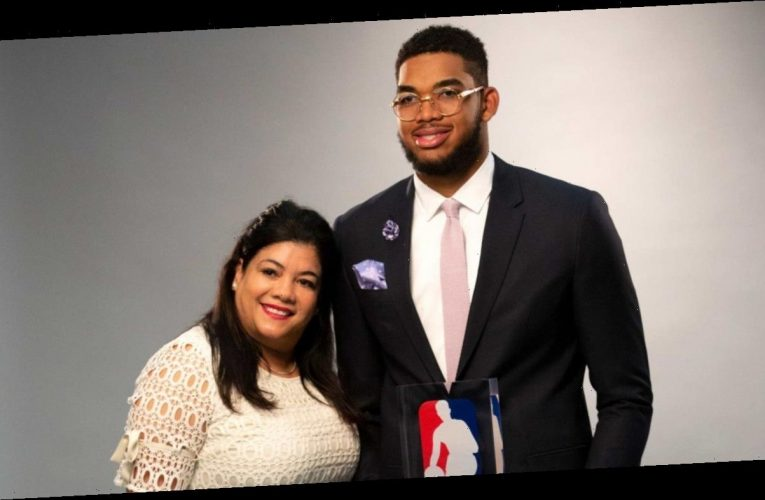 Karl-Anthony Towns Gets COVID Vaccine a Year After Mom's Death