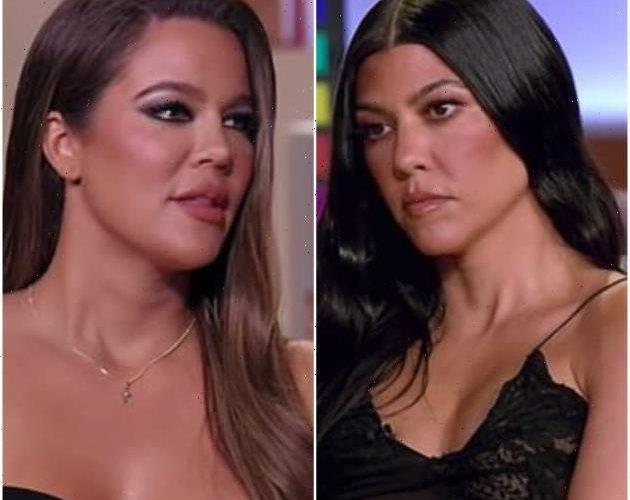 Khloe Kardashian Slams Kourtney: You Kept Travis Barker a Secret!