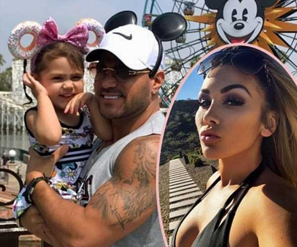Ronnie Ortiz-Magro Shows Off Family Disneyland Trip After Ex Jen Harley's Domestic Violence Arrest