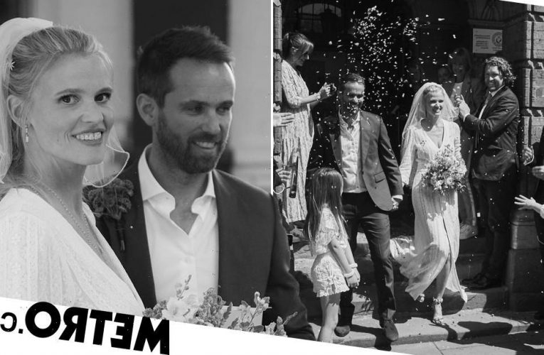 David Walliams' ex-wife Lara Stone marries partner David Grievson