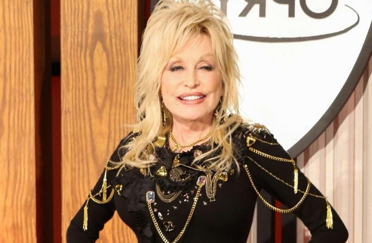 Dolly Parton Recreates 'Playboy' Cover for Husband's Birthday