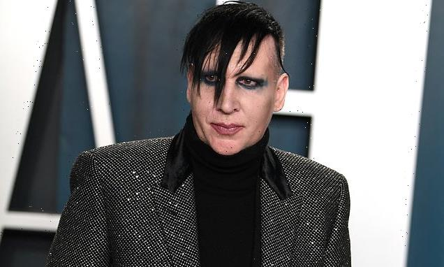 Marilyn Manson turns himself in to police for 2019 spitting incident