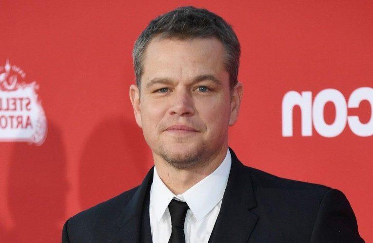 Matt Damon's Kid Refuses to Watch His Good Movies So She Can Mock Him