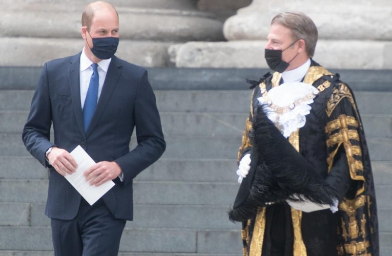 Prince William enjoyed his solo-hosting of the Big Tea for heathcare workers